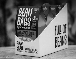 Raw Bean Pyramid Bean Bag by RoosterPR - img 1