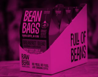 Raw Bean Pyramid Bean Bag by RoosterPR - img 2