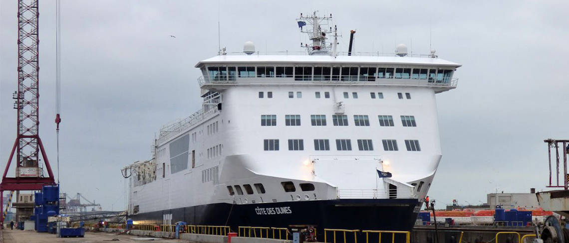 New DFDS Ferry Enters Service - image 3