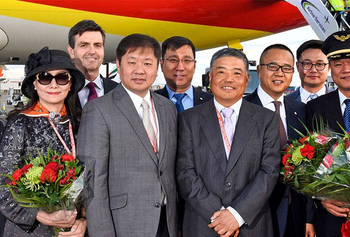 Tianjin Airlines Launches First Flight from UK to China
