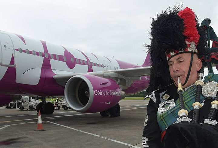Iceland's Purple Airline Takes Off from Edinburgh!
