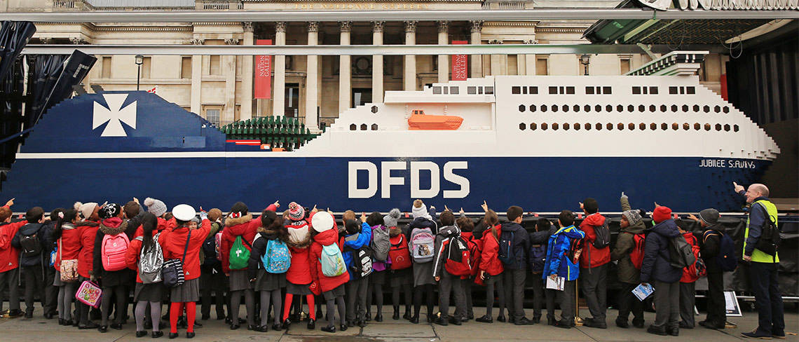 DFDS London Goes Lego Crazy by RoosterPR - image 3