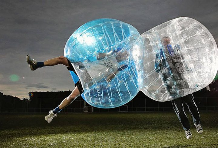 The Balloon-D'or: London to Host World's First Bubble Football World Cup