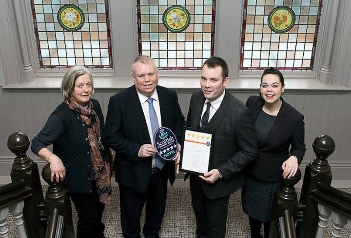 Dunalastair Hotel Suites is Awarded 5-Star Grading from VisitScotland
