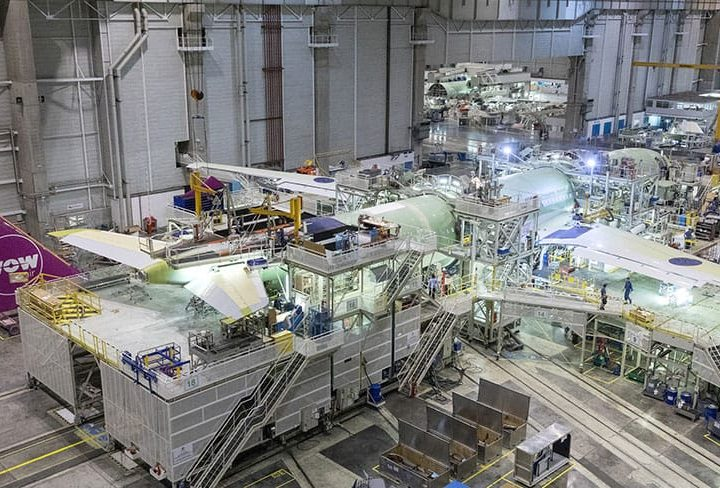 WOW air's First A330neo Enters Final Assembly Stage