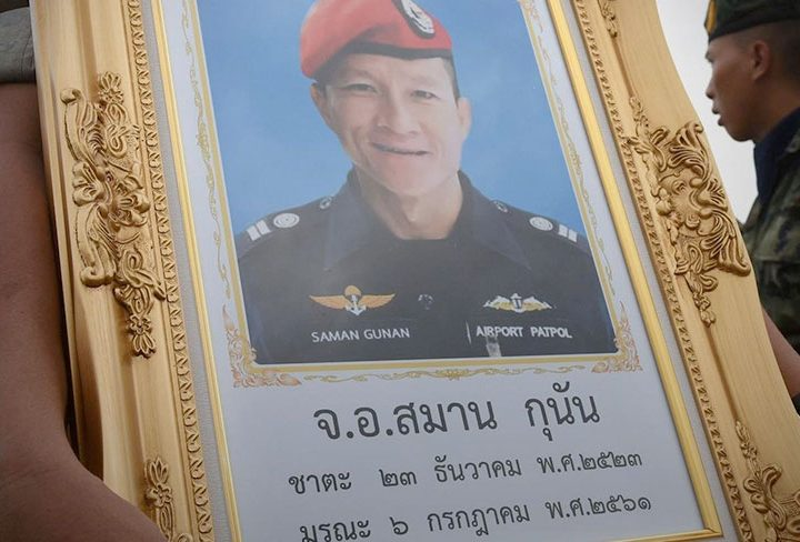 Royal Navy Divers Launch Appeal to Help the Family of Thai Diver Saman Gunan