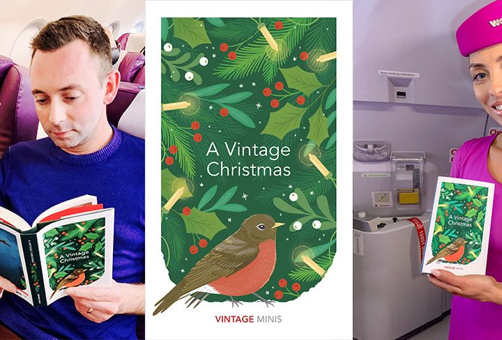 WOW air Partners with Vintage Books to Spread the Joy of Reading this Christmas