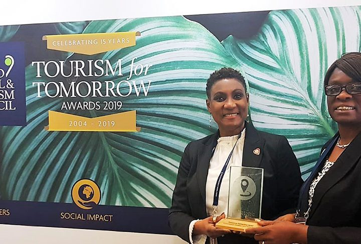 St. Kitts Wins Tourism for Tomorrow Award
