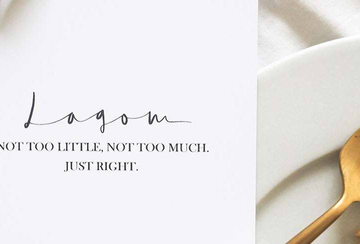 Get Ready for the Social Season: an Autumn – Winter Guide to Achieving 'Lagom'