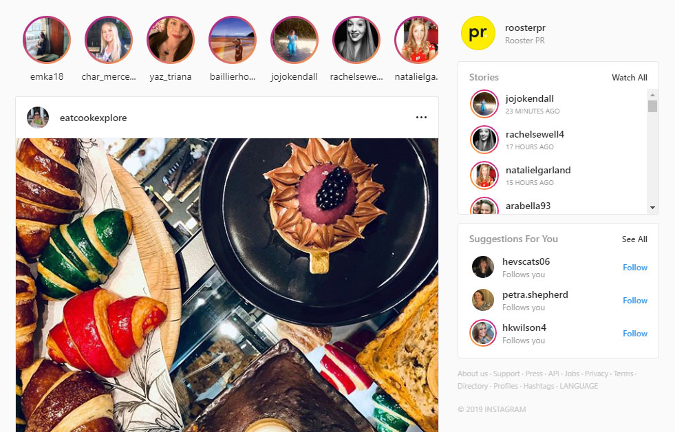 Instagram and the Story tab where you'll be able to view Stories to save them down as UGC