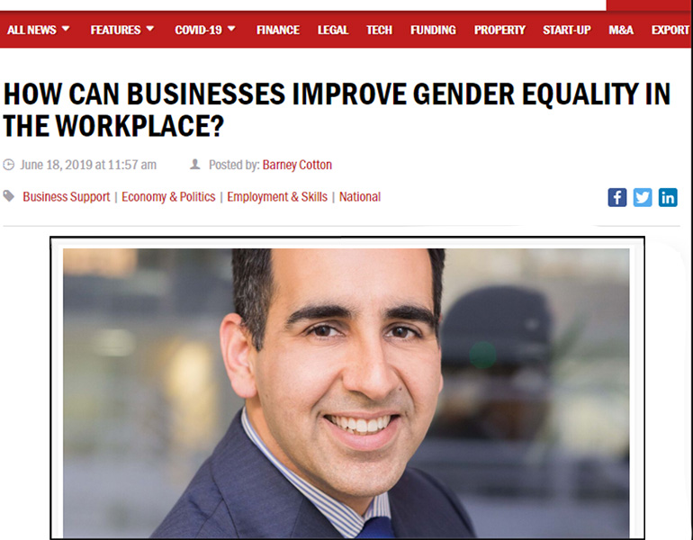 How Can Businesses Improve Gender Equality In The Workplace in Business Leader