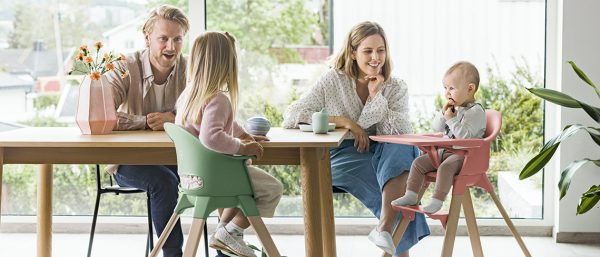 Avoid family mealtime madness with these tips from Stokke
