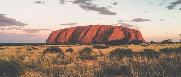 Uluru, one of Tourism NT's key draws, and a key part of StudentUniverse and Tourism NT's DMA's 2020 campaign brief