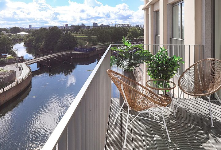 Doors Open to First Phase of New Canal-Side Rental Homes at Sugar House Island, East London