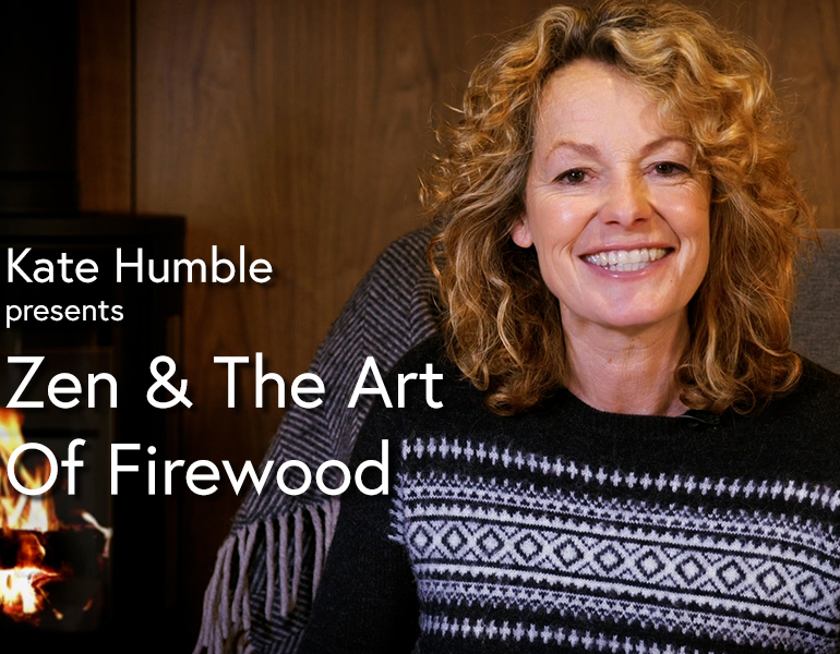The thumbnail for Fireside Storytelling, episode 3, Zen & The Art of Firewood.