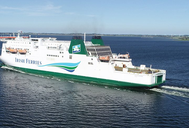 Sea Travel Differently: Irish Ferries' First UK to France Service Sets Sail from Dover