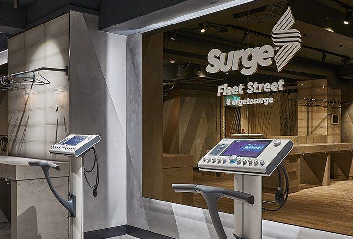 Surge Launches Third London EMS Fitness Studio in Fleet Street