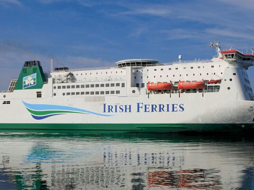 RoosterPR Irish Ferries Sea Travel Differently